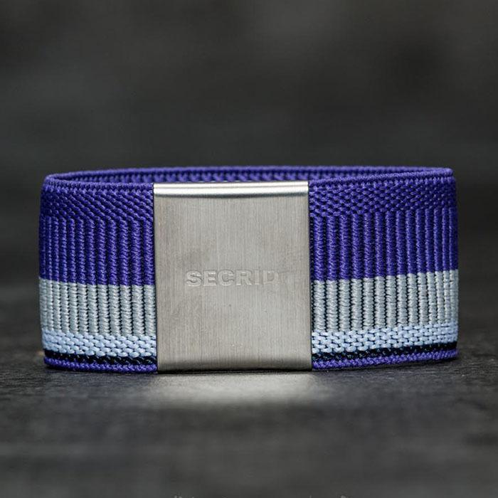 (複製)荷蘭 SECRID|Moneybank 鈔票錢夾帶/卡夾固定帶 - 紫