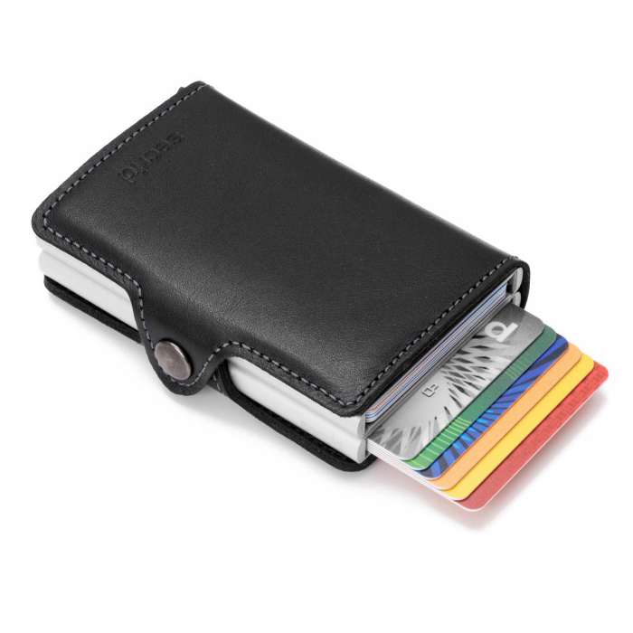 (複製)荷蘭 SECRID|RFID安全防盜錄 Twinwallet Original 雙層經典卡片夾 - 黑