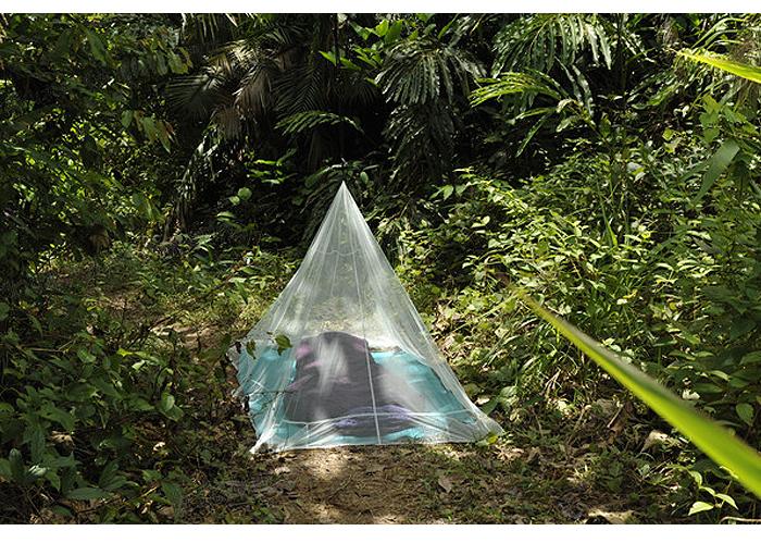 奧地利 COCOON 戶外露營旅遊防蟲蚊帳-單人-綠