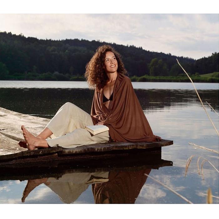 奧地利 COCOON|輕量快乾 COOLMAX防蚊旅行四季毯-可可棕