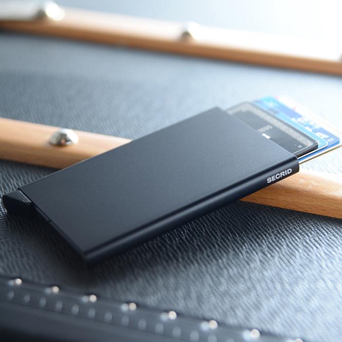 荷蘭 SECRID|RFID安全防盜錄 Cardprotector 智慧單卡夾 - 藍