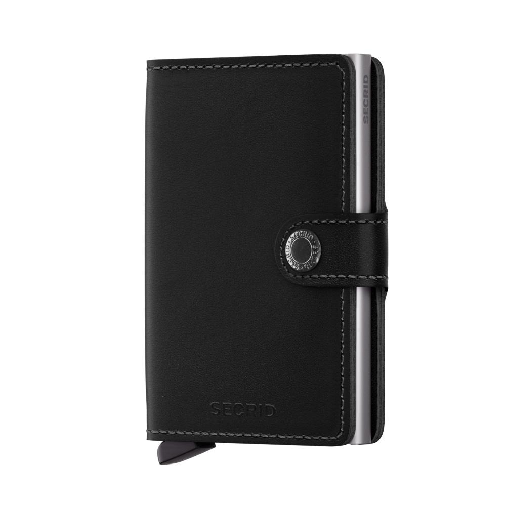 荷蘭 SECRID|RFID安全防盜錄 Miniwallet Original 真皮錢包卡夾 - 黑