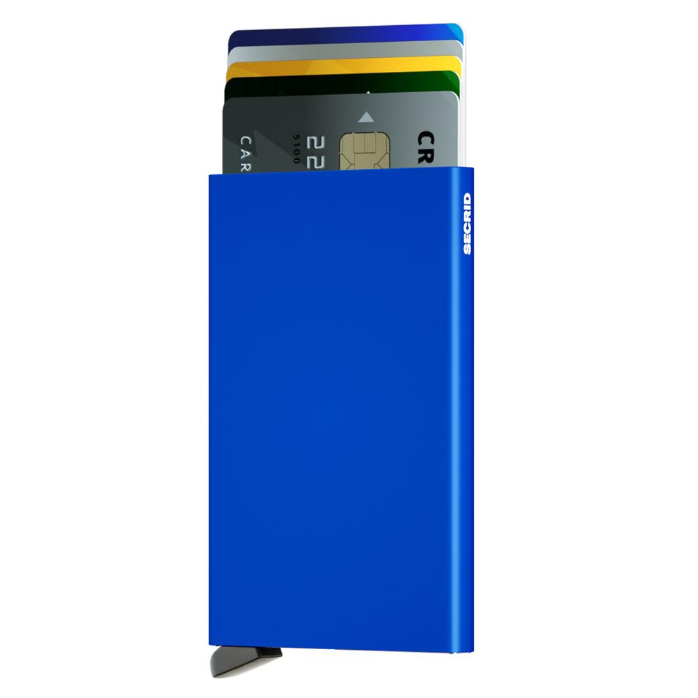 荷蘭 SECRID RFID安全防盜錄 Cardprotector 鋁合金單卡夾 - 藍