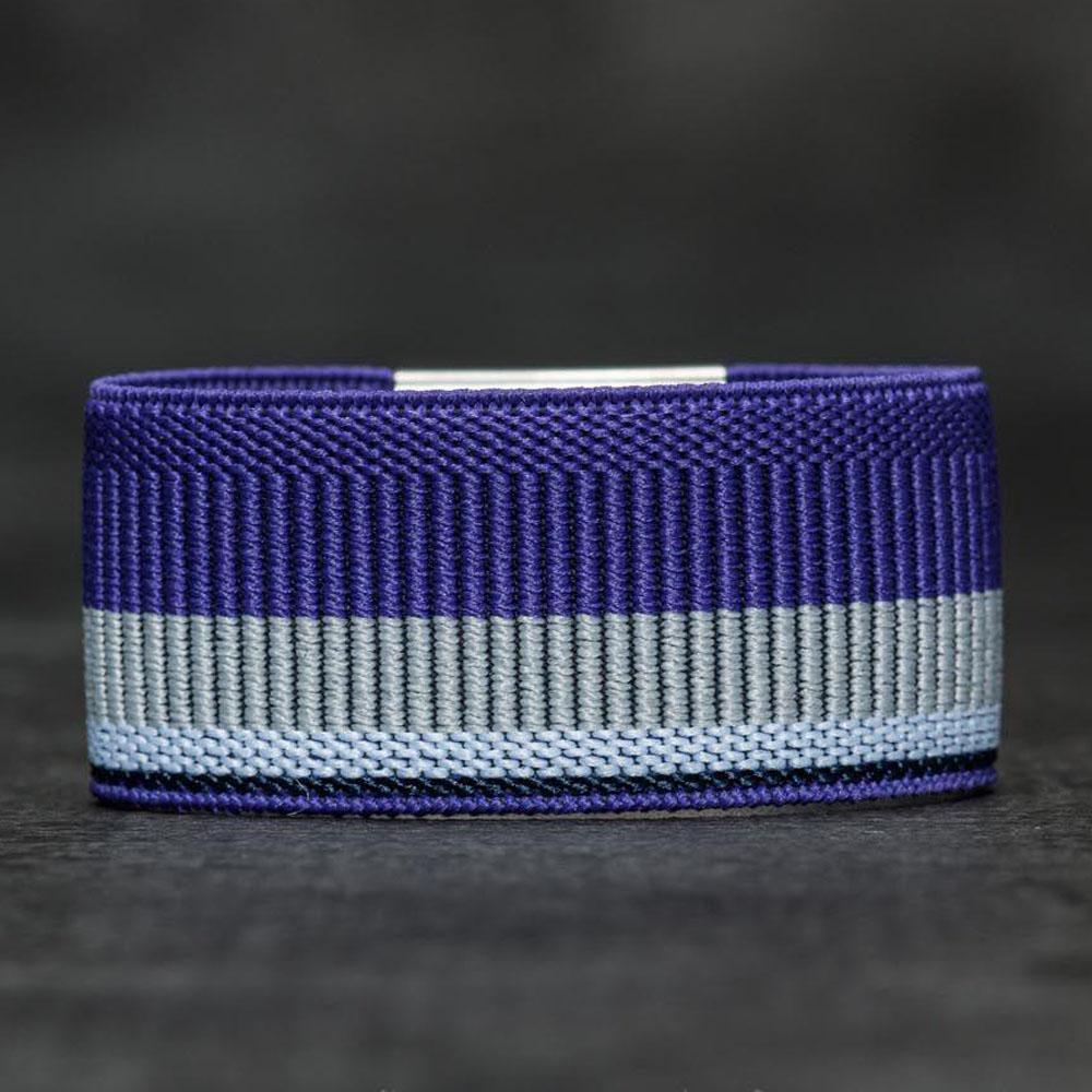 荷蘭 SECRID|Moneybank 鈔票錢夾帶/卡夾固定帶 - 紫