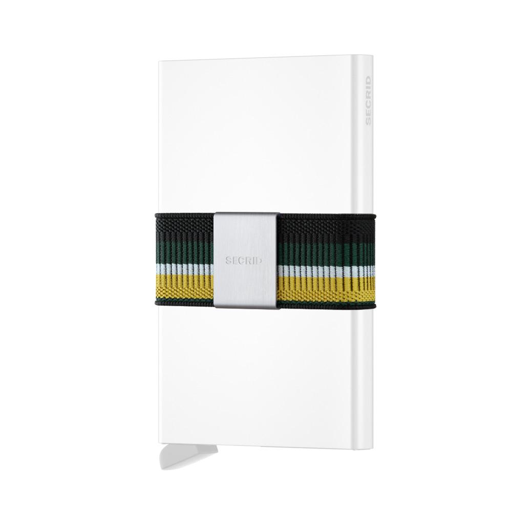 荷蘭 SECRID|Moneybank 鈔票錢夾帶/卡夾固定帶 -綠底黃帶