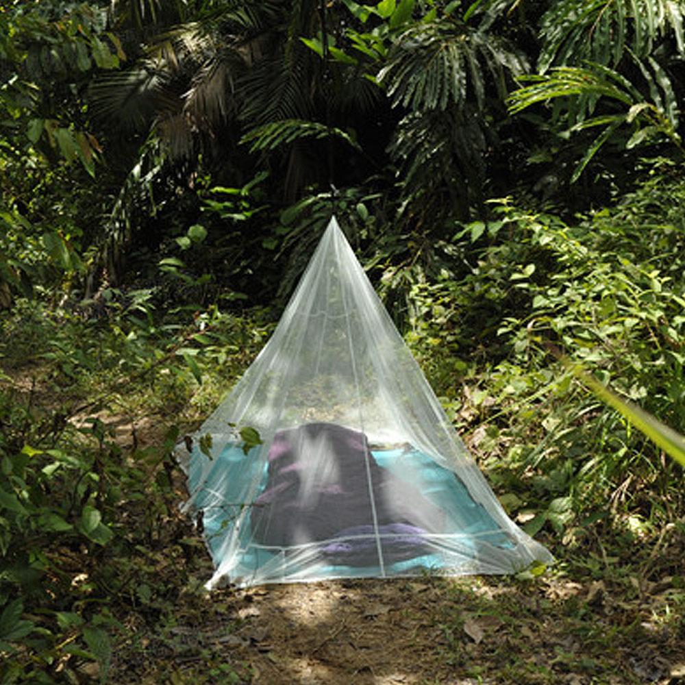 奧地利 COCOON|戶外露營旅遊 防蟲蚊帳-單人-綠
