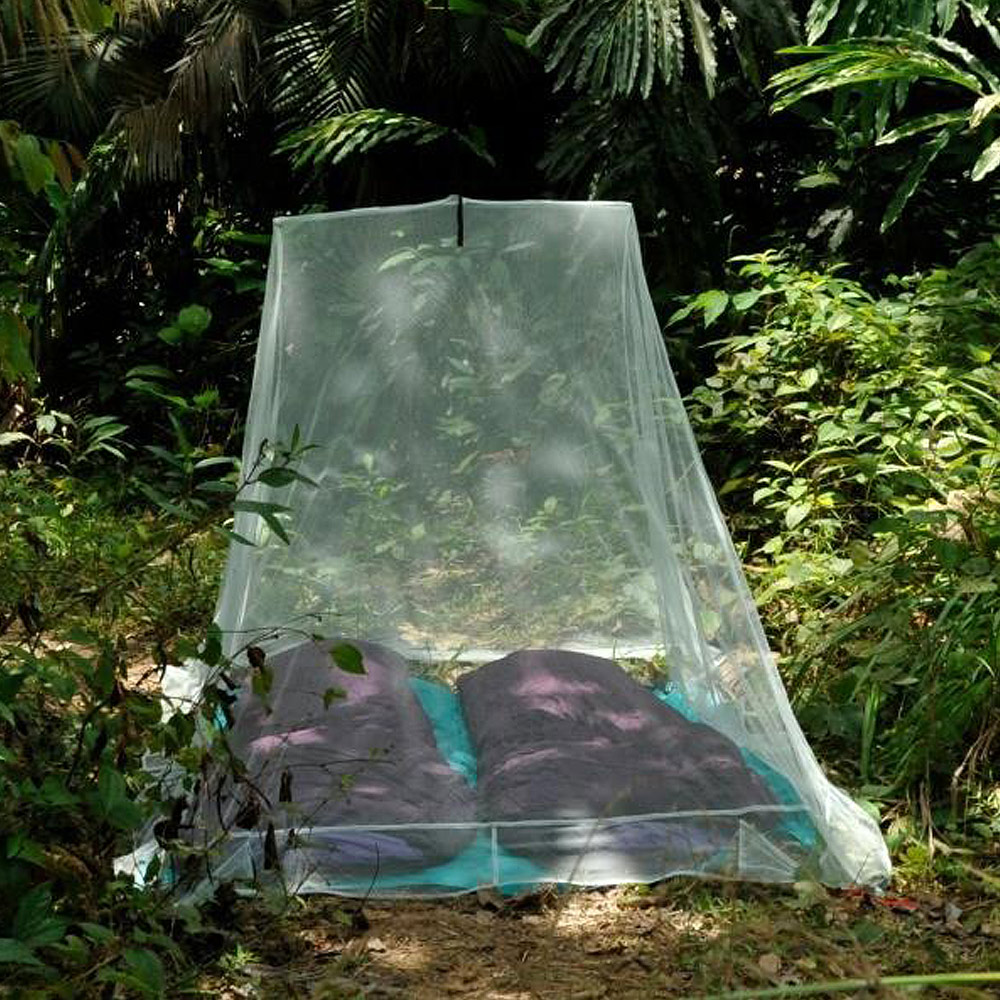 奧地利 COCOON|戶外露營旅遊 防蟲蚊帳-雙人-綠