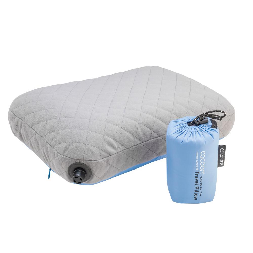 奧地利 COCOON|極輕舒適 超細纖維充氣枕頭靠墊 -藍