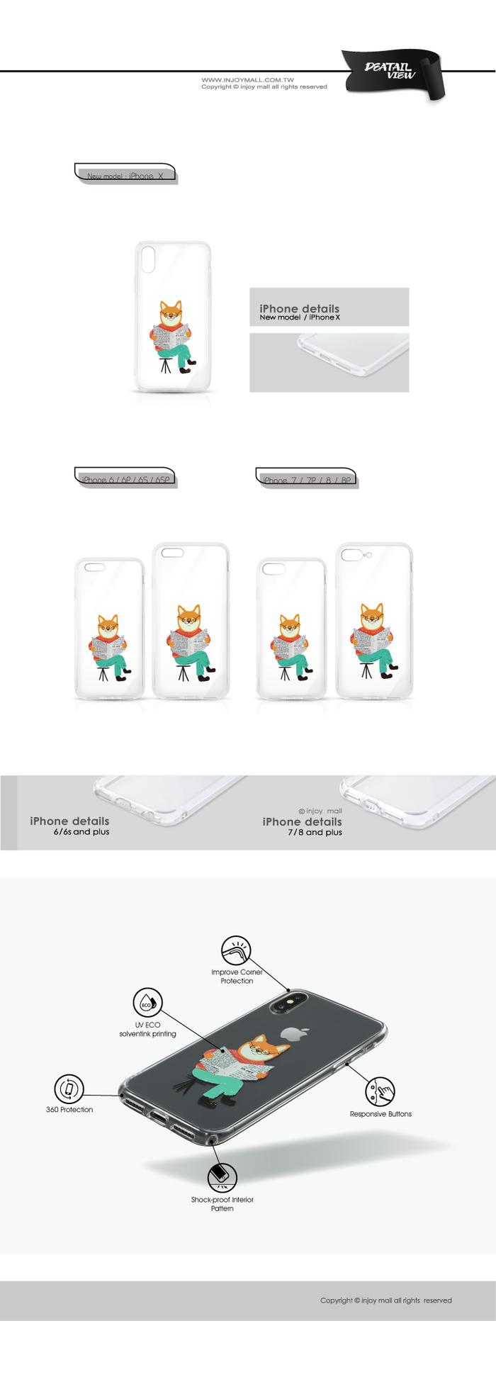 (複製)INJOY mall iPhone 6 / 7 / 8 / Plus / X 系列 Look me紅唇女孩 耐衝擊防摔手機殼