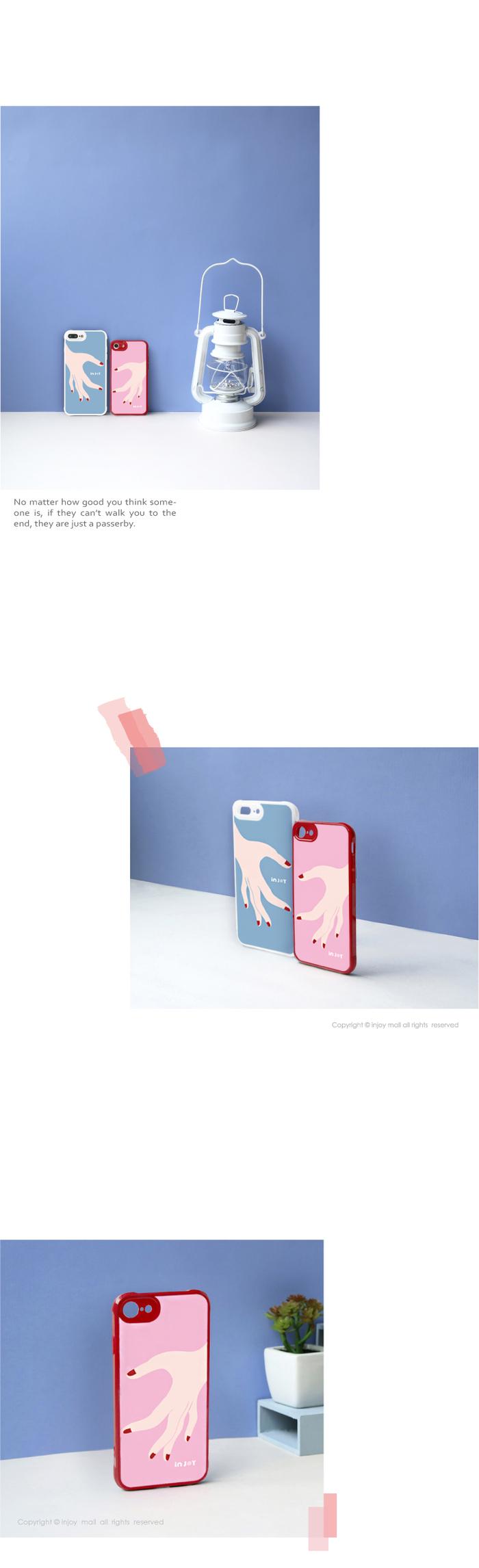 (複製)INJOY mall iPhone 7 / 8 / Plus / X 浪漫仲夏之葉 耐撞擊邊框手機殼