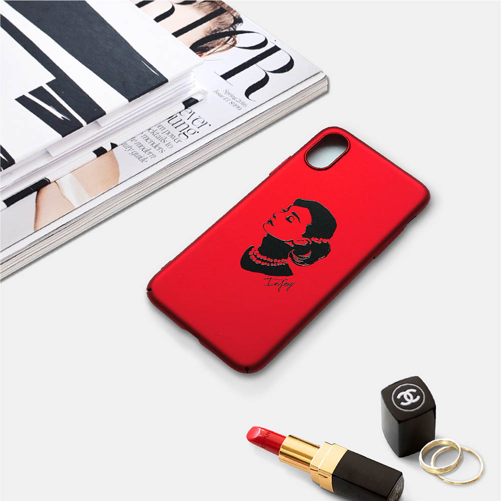 INJOY mall|iPhone 6 / 7 / 8 / Plus / X 系列 簡約摩登時髦 超輕薄磨砂手機殼