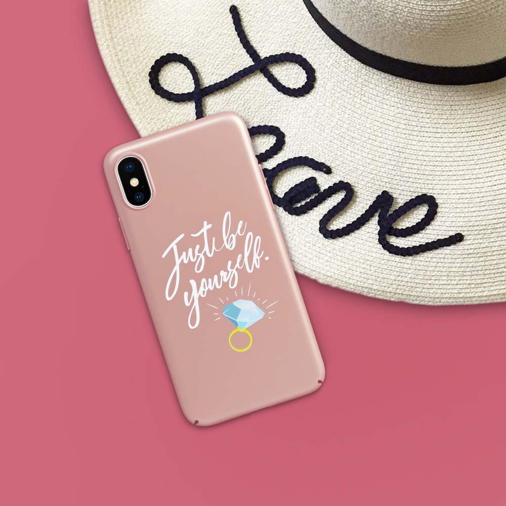 INJOY mall|iPhone 6 / 7 / 8 / Plus / X 系列 最好的禮物就是自己玫瑰金 超輕薄磨砂手機殼
