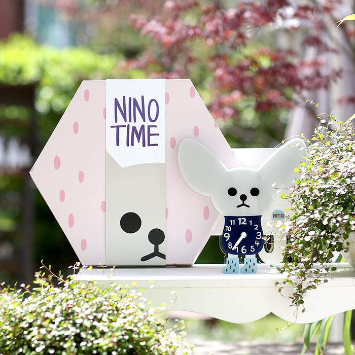 韓國NINO HapPy TimE童趣時鐘-沙漠大耳狐