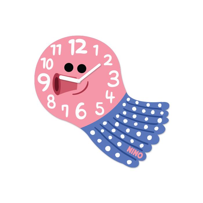 (複製)韓國NINO|HapPy TimE童趣時鐘-章魚小丸子