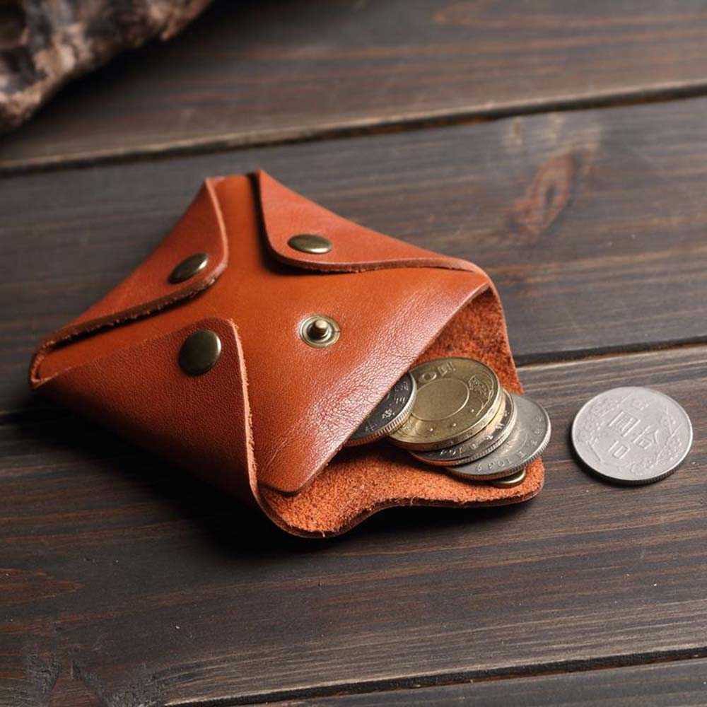 SoLoMon|四度空間 皮革零錢包 (3色可選)