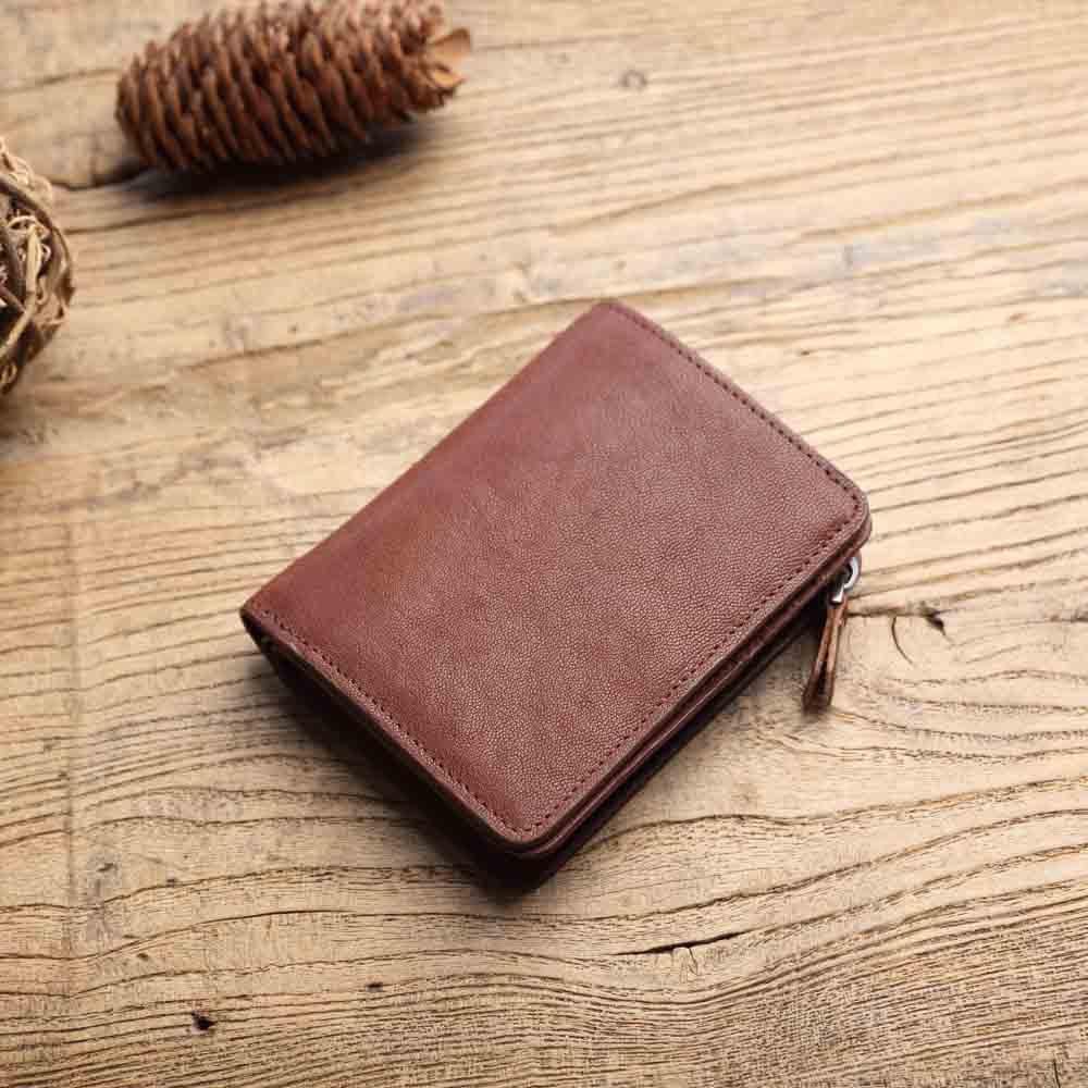 SoLoMon|菸嗓 皮革短夾 零錢包 皮包 皮夾