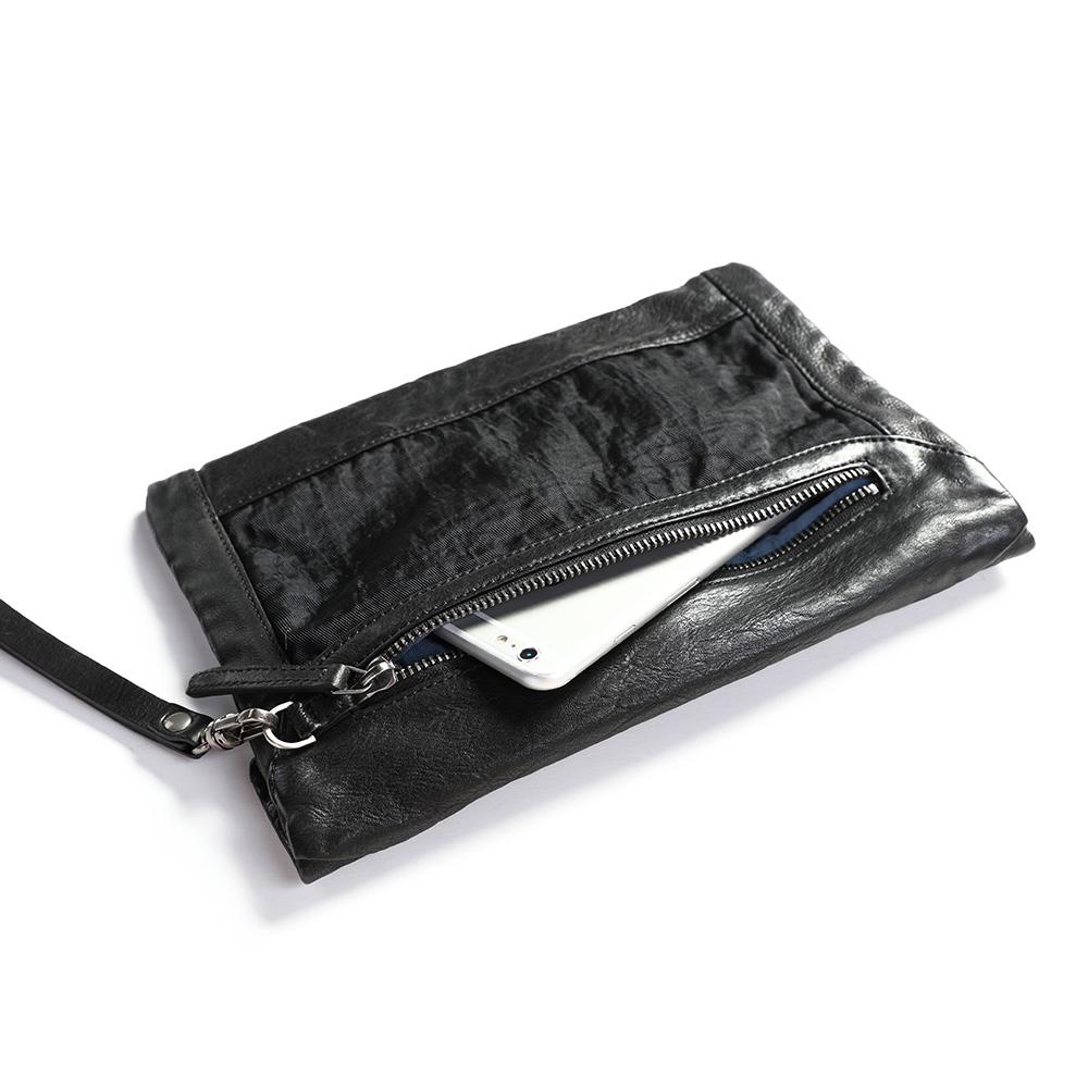 SoLoMon|真皮iPad 平板套 /收納包 /手拿包(3色可選)