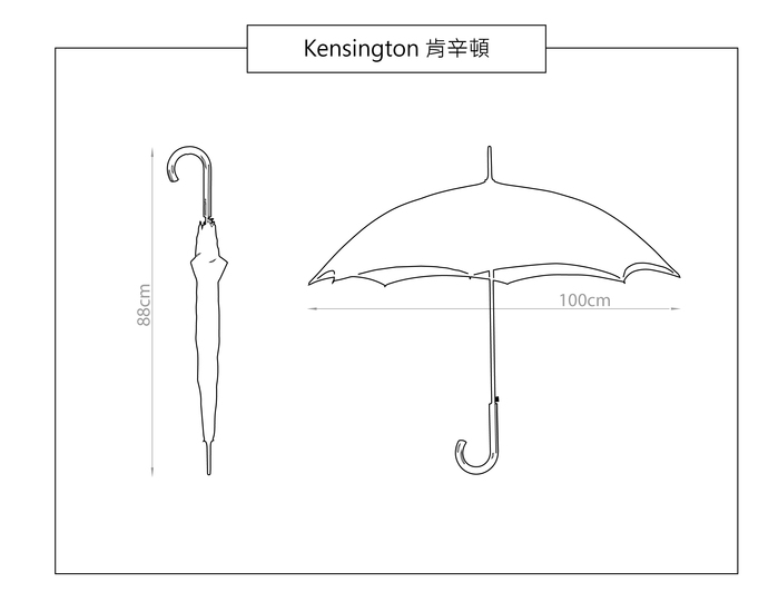 (複製)Fulton富爾頓|Bloomsbury雙層名媛傘-水玉點點