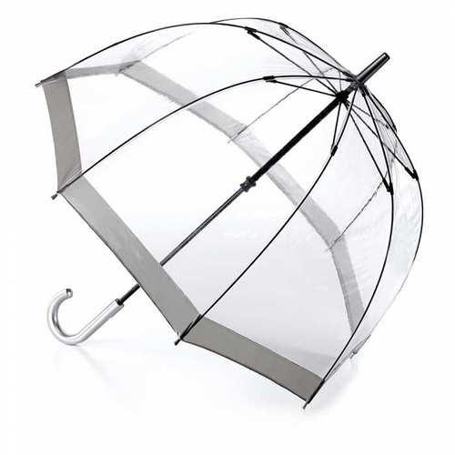 Fulton富爾頓|鳥籠傘-百搭銀