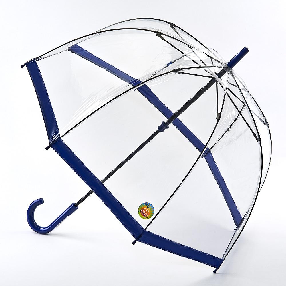 Fulton富爾頓|抗UV鳥籠傘-海軍藍