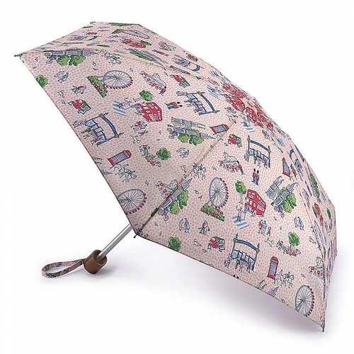 Fulton富爾頓|Cath Kidston聯名迷你口袋傘-悠遊倫敦