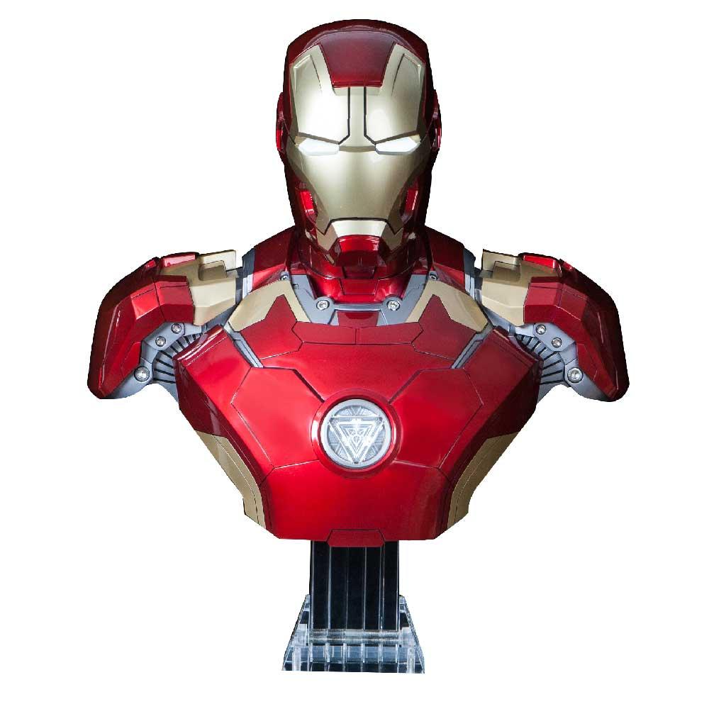 CAMINO   【預購訂製款】 鋼鐵人Mark43 BUST半身胸像1:1藍牙音響