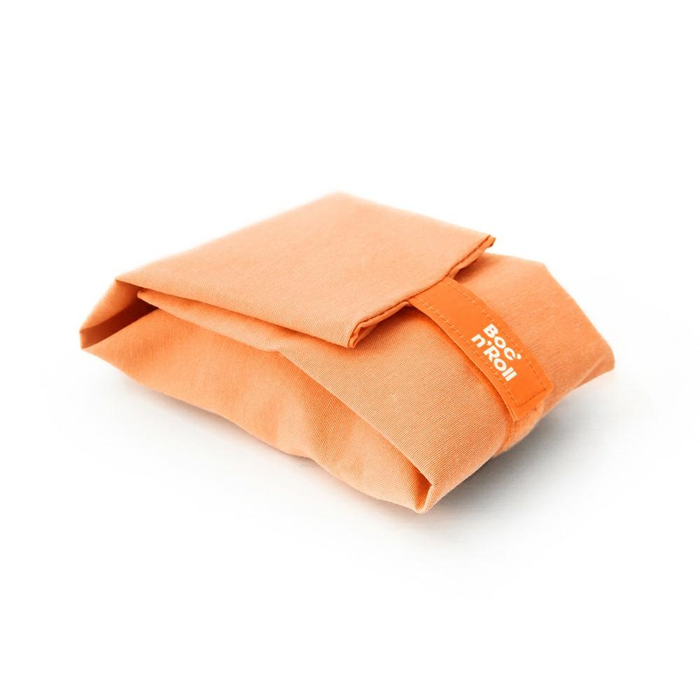 Roll′eat | 西班牙食物袋  搖滾輕食袋-馬卡龍(甜橘粉)