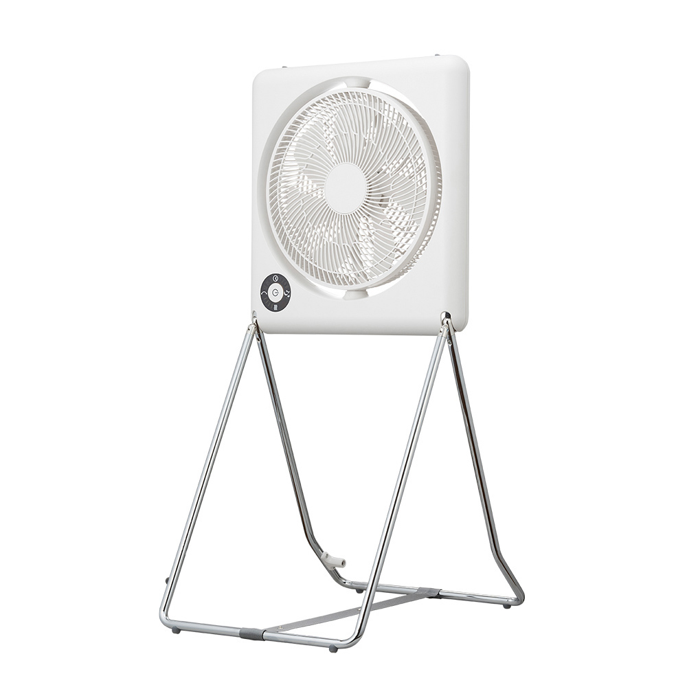 DOSHISHA |收納風扇 FLT-254D WH-白