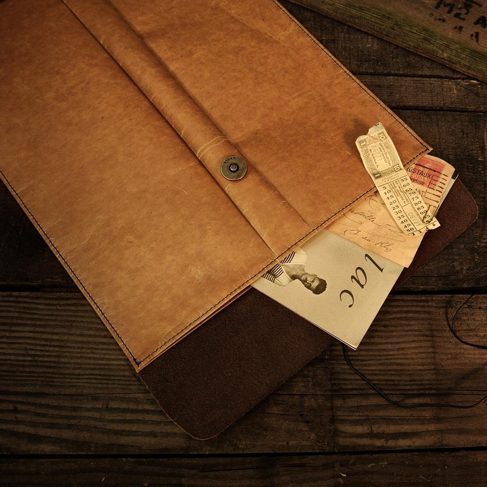 ADOLE 蠟紋布-A4文件袋