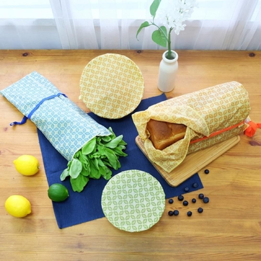 仁舟淨塑 蜂蠟布包容真食4件超值組