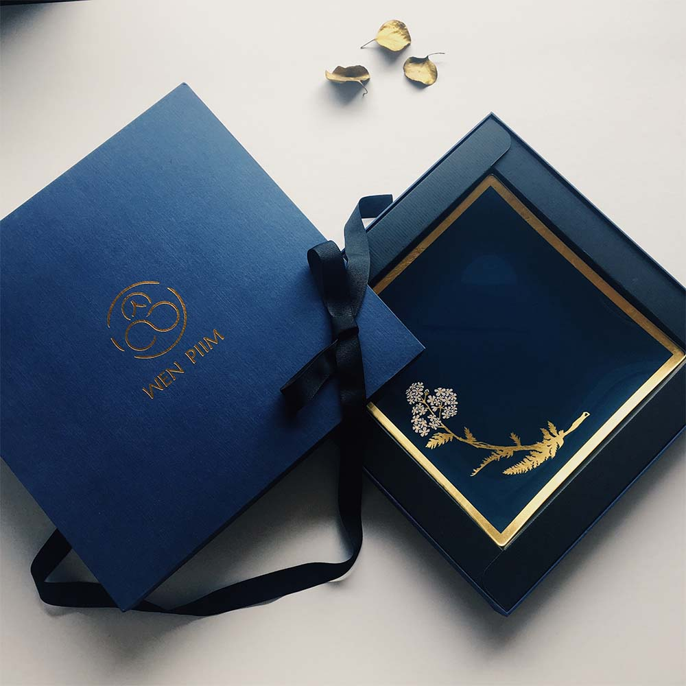 WEN PIIM | Venus Healing Glass Plate Gift x 維納斯的治癒大方玻璃器皿