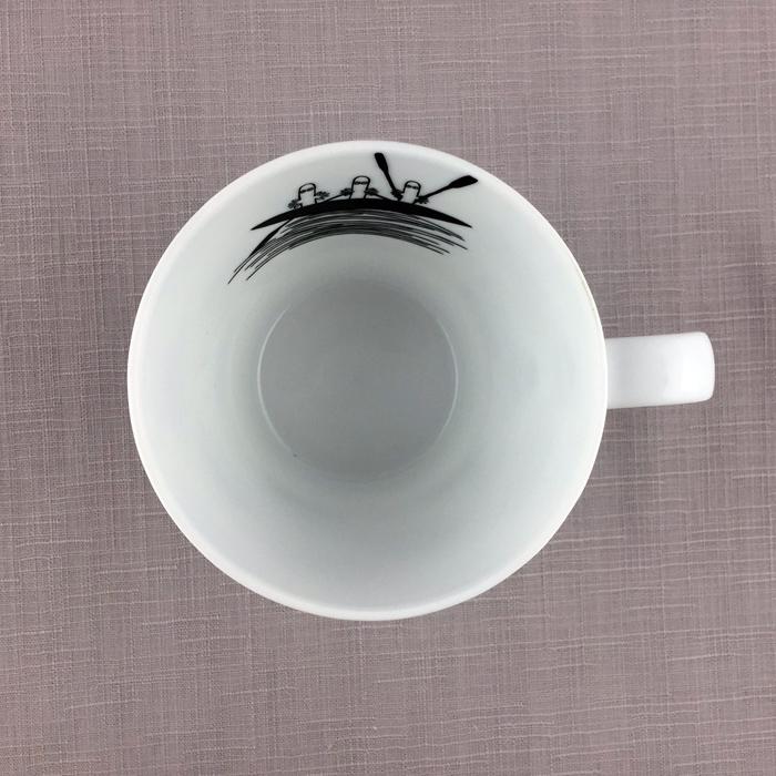 yamaka MOOMIN嚕嚕米幾何系列-溜溜咖啡杯
