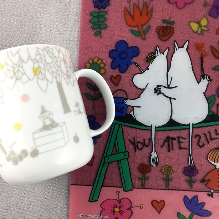 yamaka MOOMIN嚕嚕米回憶系列-小不點瓷杯