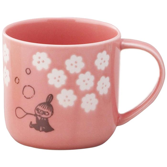 yamaka|MOOMIN嚕嚕米小花系列-小不點木盒馬克杯