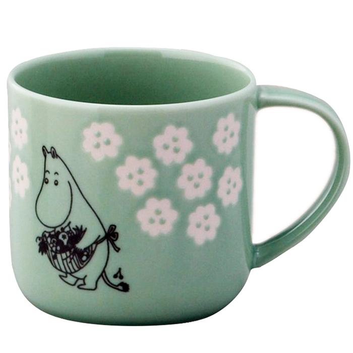 yamaka|MOOMIN嚕嚕米小花系列-嚕媽木盒馬克杯