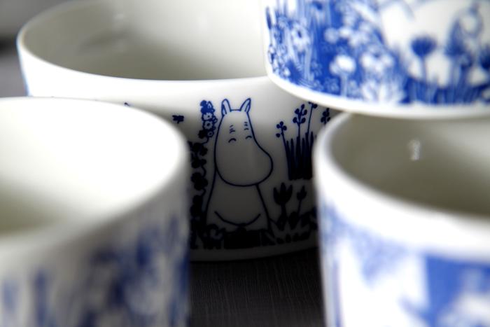 yamaka|MOOMIN嚕嚕米花繪系列-4入保鮮碗組(1大3小)