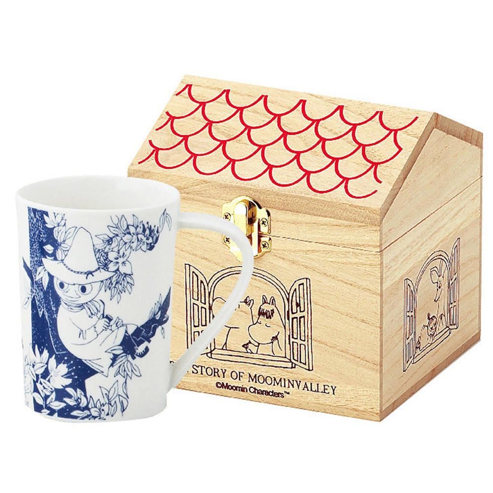 yamaka|MOOMIN嚕嚕米花繪系列-阿金木盒馬克杯