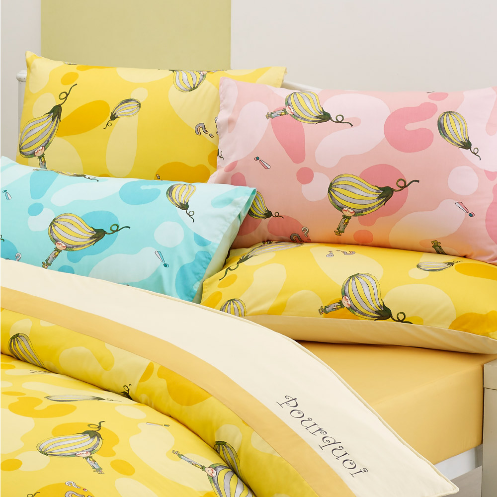 Kidult|布瓜的世界 布瓜樂園  兩用被床包組 - 雙人加大