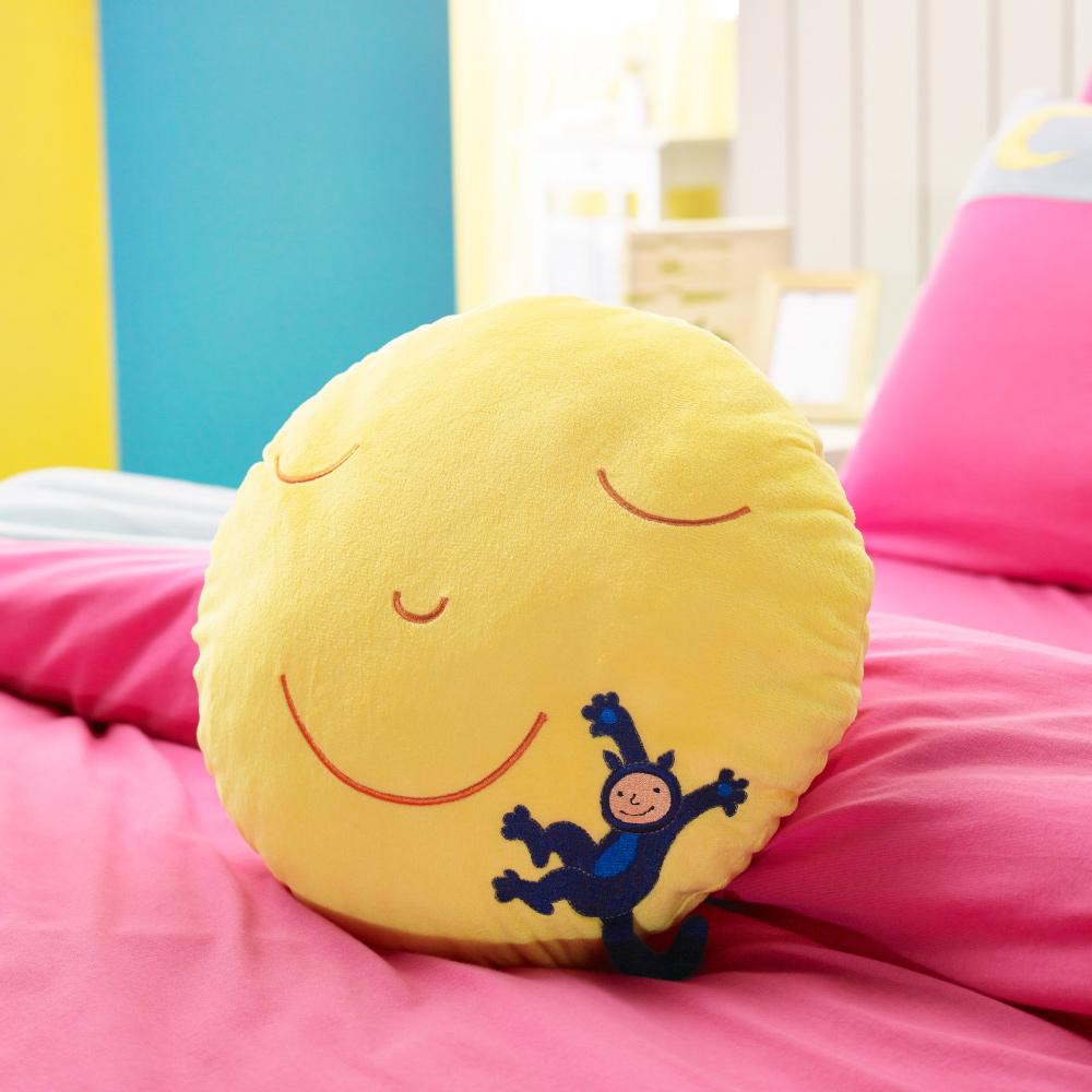 Kidult|月亮微笑 圓型抱枕 單顆