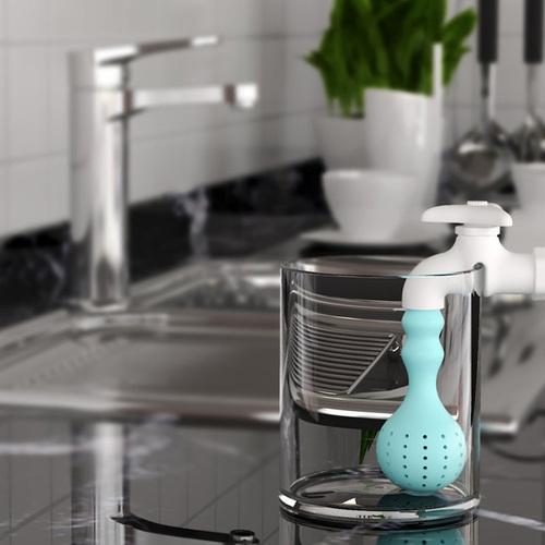 Hikalimedia|Faucet 水龍頭泡茶器
