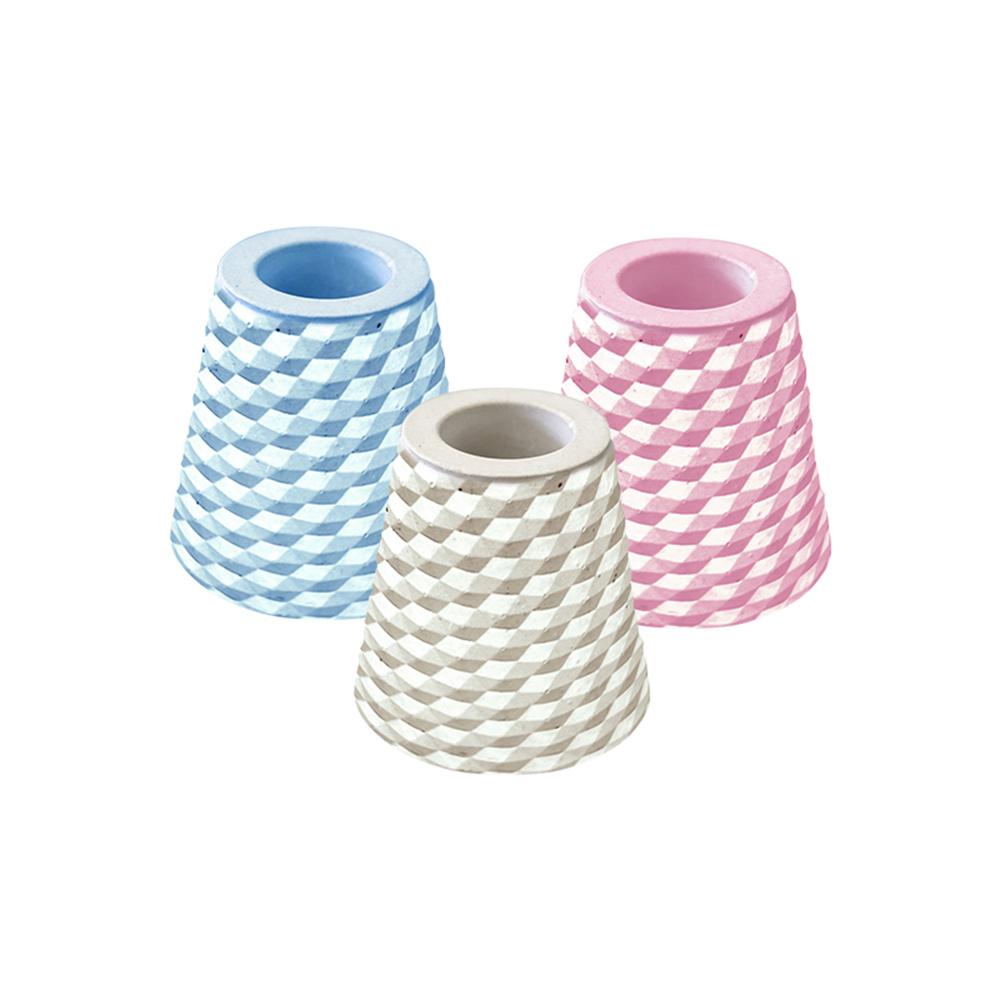 trico|菱格珪藻土牙刷架〈2入組〉
