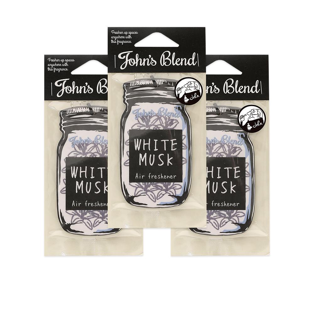 John′s Blend|香氛片〈經典白麝香3入組〉