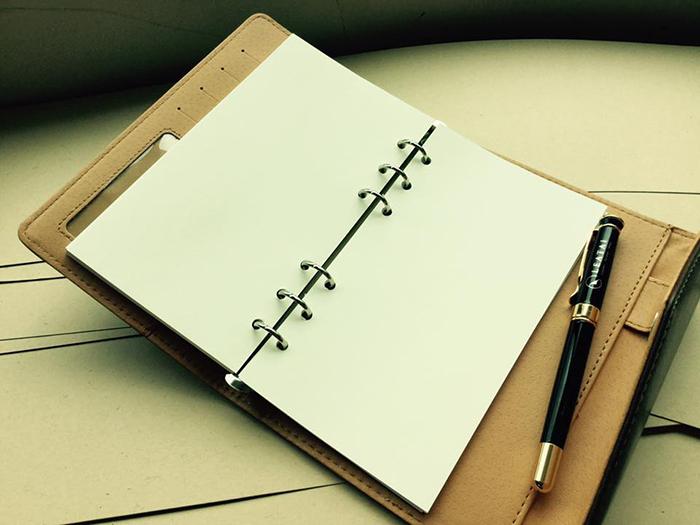 (複製)LEATAI 磊泰|復古信封包 25K活頁筆記本 + 介紙1.0內頁(鋼筆專用紙)) - 深咖啡色