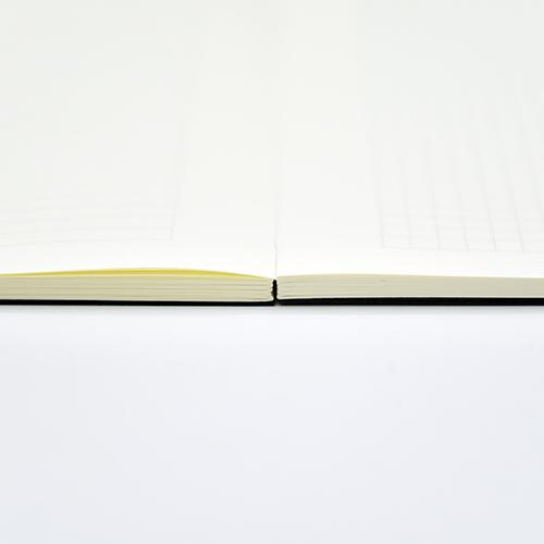 LEATAI 磊泰 經典方格筆記本 - 介紙1.0(鋼筆適用紙)-黑色-2本入