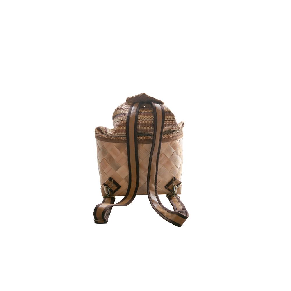 一粒工作室│月桃葉後背包