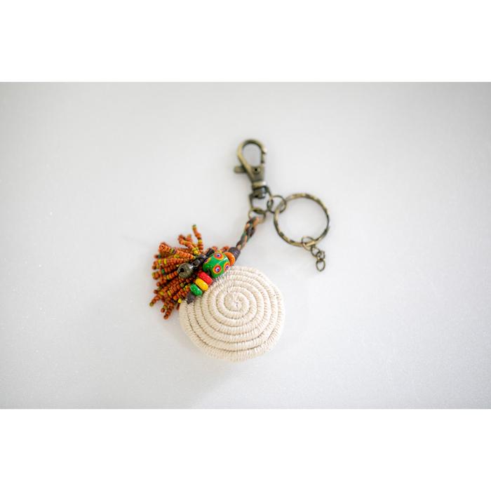 (複製)卡塔文化工作室│琉璃貝殼鑰匙圈