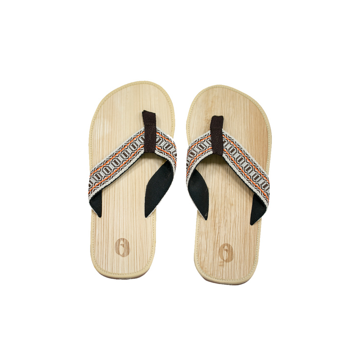 (複製)米麻岸工作室│草綠織帶檳榔鞘拖鞋女版#5-#9