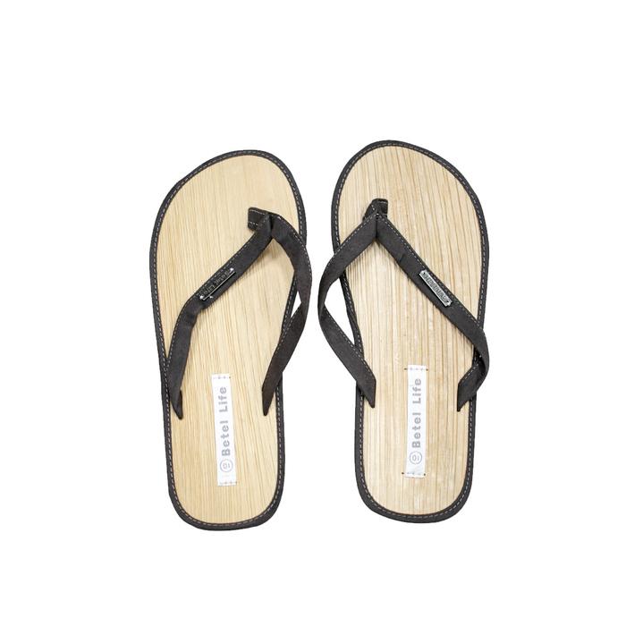 (複製)米麻岸工作室│極簡素色檳榔鞘拖鞋(黑)男女同版#5-#11