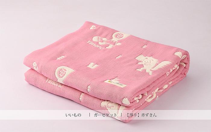 Yimono|六層紗呼吸被 - 小紅帽 (厚款/ L)