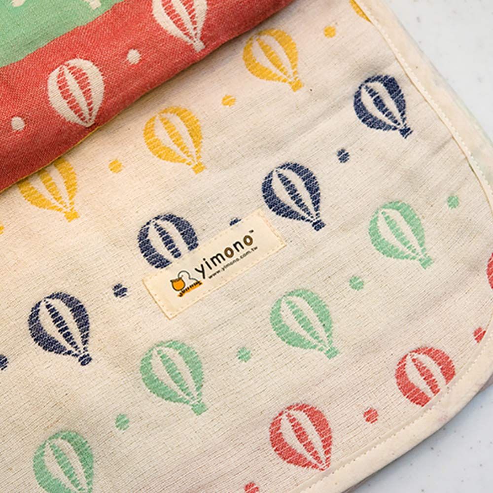 Yimono|六層紗呼吸被 - 彩色氣球 (薄款/ M)